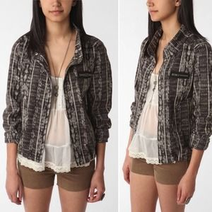 Urban Outfitters Ecote Ikat Military Jacket